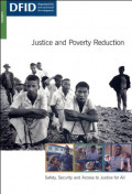 Justice and Poverty Reduction