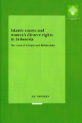 Islamic Courts and Women's Divorce Rights in Indonesia: The Case of Cianjur and Bulukumba