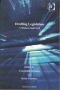 Drafting Legislation: A Modern Approach