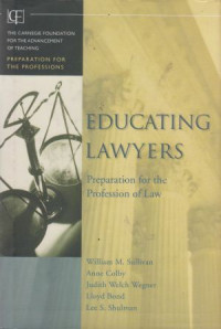 Image of Educating Lawyers: Preparation for the Profession of Law
